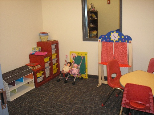 HHS Child Therapy Room