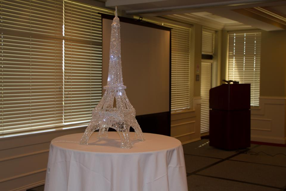 Eiffel Tower display