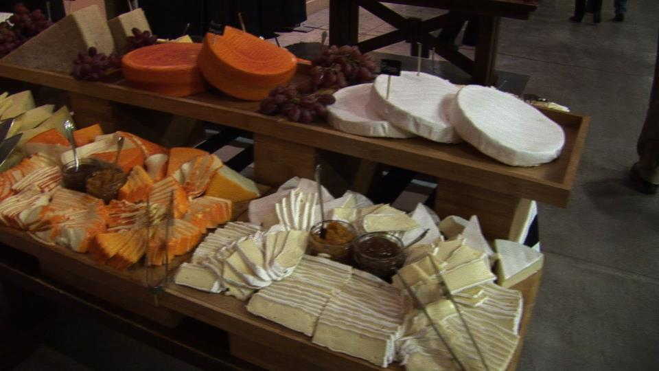 French Evening 2016 Cheese table