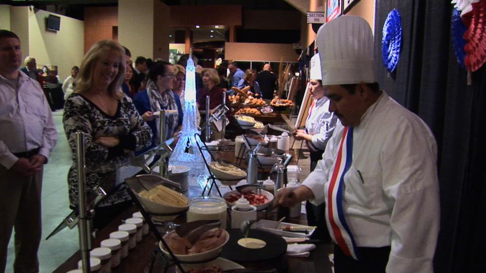 French Evening 2016 Crepes