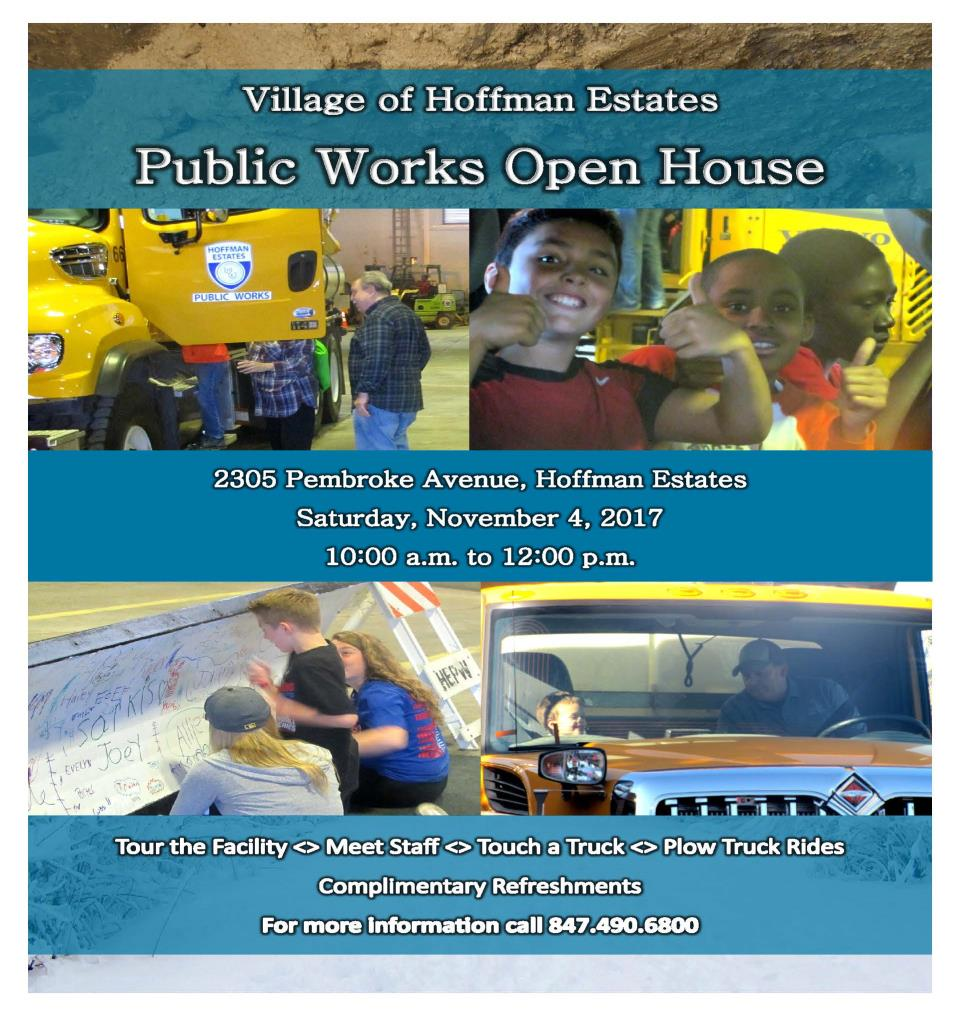 2017 PW Open House Flyer
