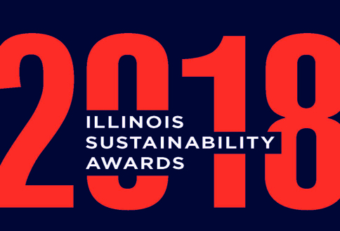 Village receives 2018 Illinois Sustainability Award