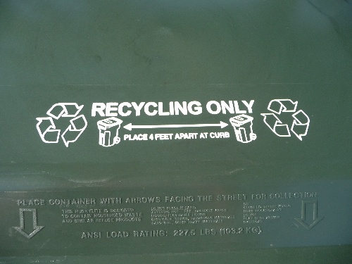 Recycling Cart Lid