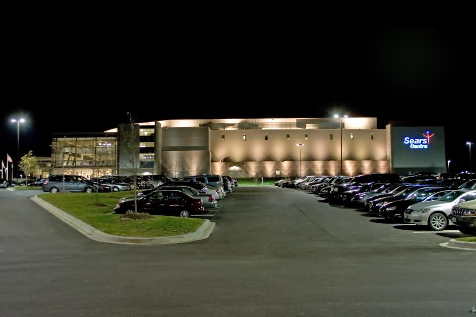 Sears Centre Arena at Night