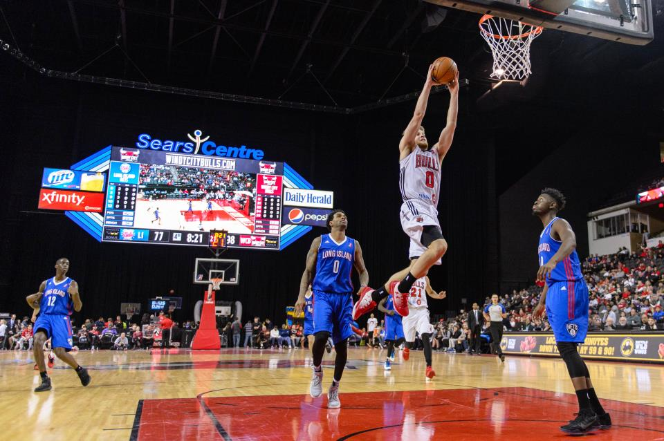 Windy City Bulls call the Sears Centre Home