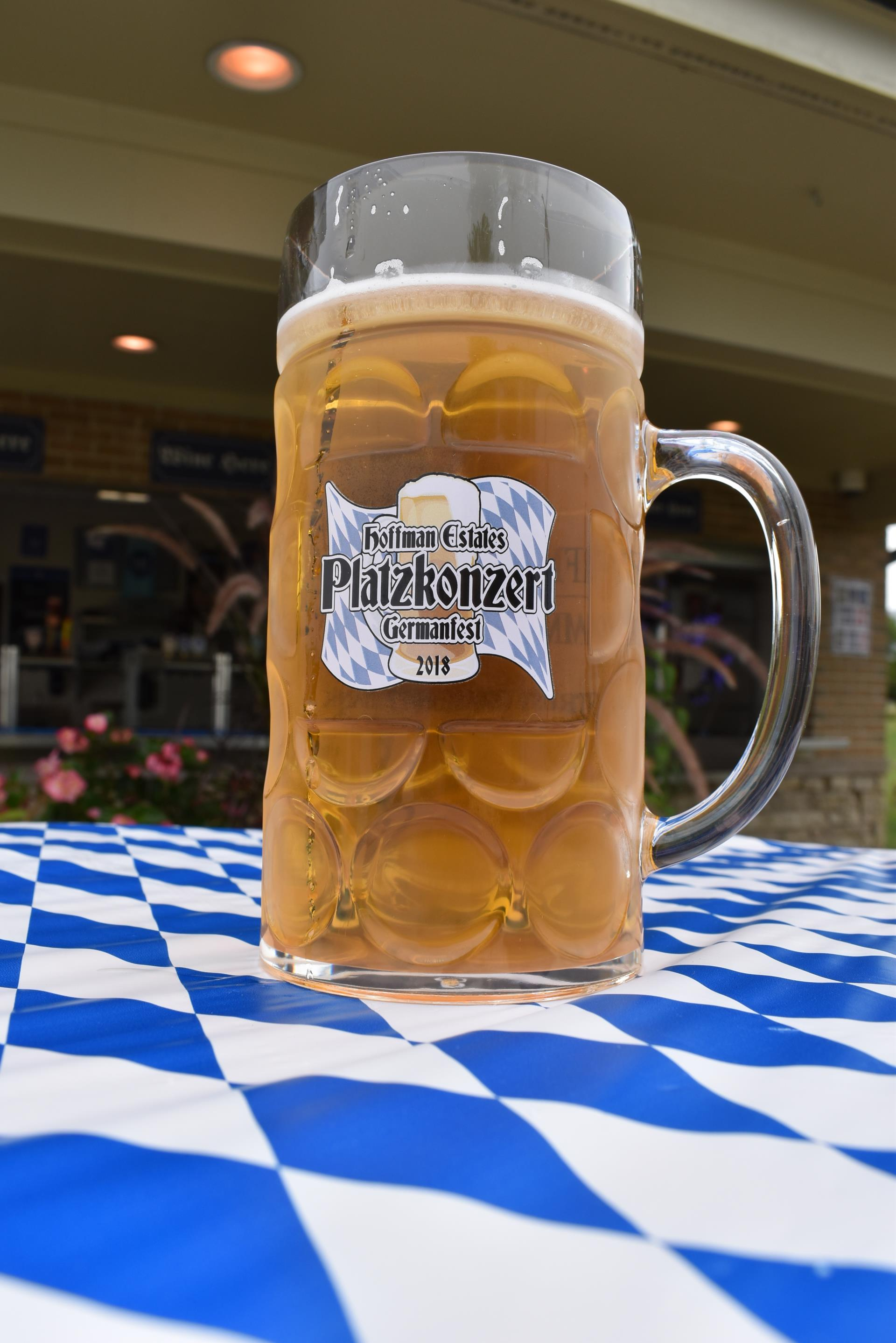 German fest mug of beer