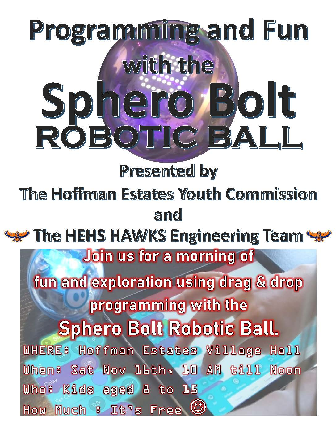 Sphero STEM Event