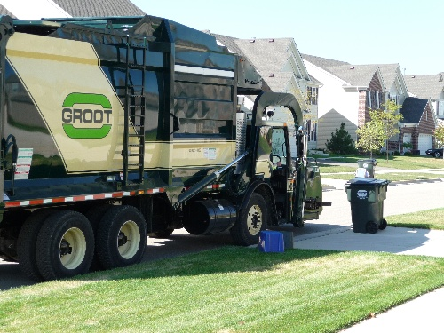 Garbage Recycling Village Of Hoffman Estates